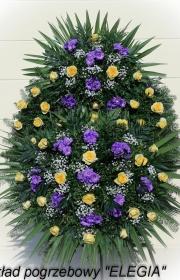 kwiaty na pogrzeb w warszawie przez usługi pogrzebowe elegia