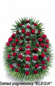 wieniec na pogrzeb S1 róża usługi pogrzebowe w warszawie elegia