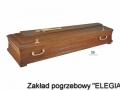 Ciemna trumna model DFI w zakład pogrzebowy elegia