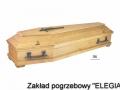 Jasna trumna DW do eleganckich pogrzebów w warszawie