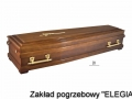 ciemna trumna na pogrzeb w warszawie w zakład pogrzebowy elegia