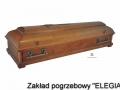 Trumna w modelu ZS w zakładzie usług pogrzebowych elegia