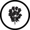 ikonka kwiatów dla zakładu pogrzebowego elegia